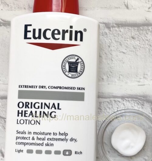 Eucerin-original-healing-lotion-texture