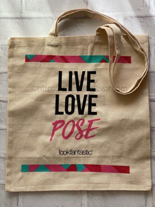 lookfantastic-tote bag-free-gift