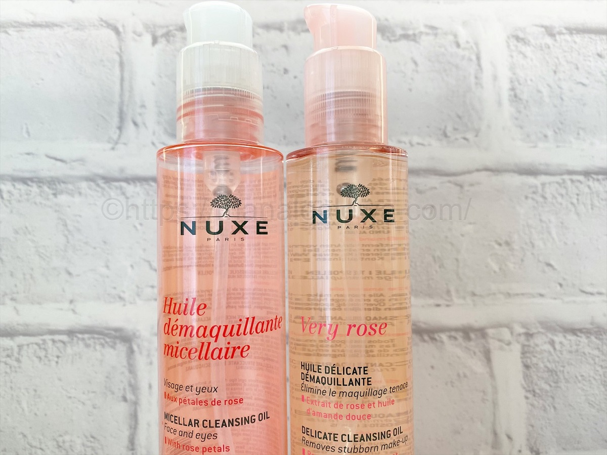nuxe-cleansing-oil-comparison