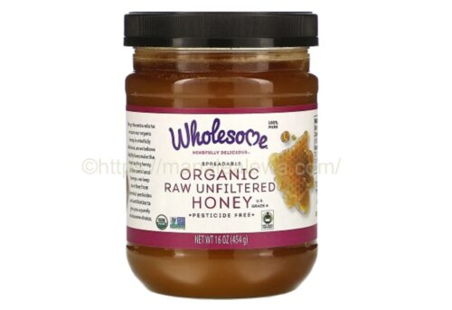 Wholesome-spreadable-organic-raw-unfiltered-honey