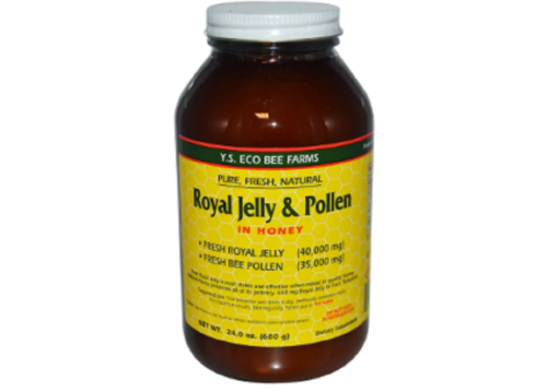 YS-Eco-Bee-Farms-royal-jelly-pollen-in-honey