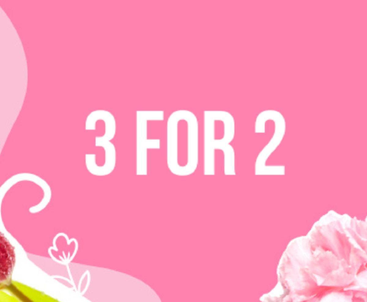 lookfantastic-3-for-2-sale