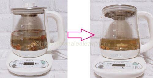 クコの実となつめのお茶の作り方