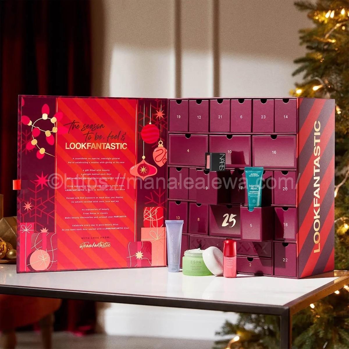 lookfantastic-advent -calendar-2021